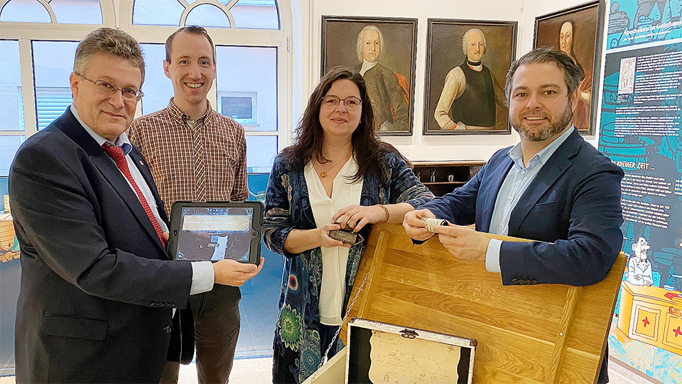 Geschichte erlebt: Michael Reul (MdL CDU) besuchte Museum der Barbarossastadt Gelnhausen
