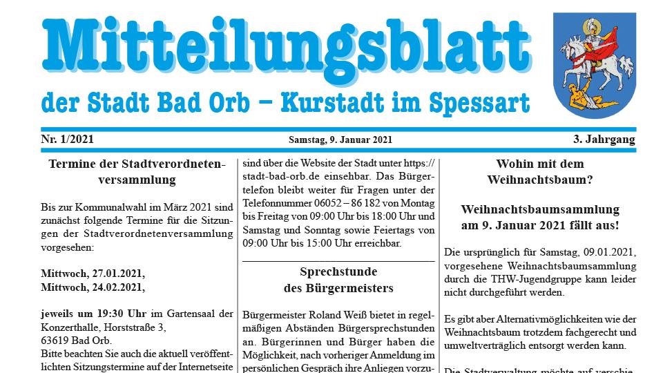 Mitteilungsblatt 2021/1