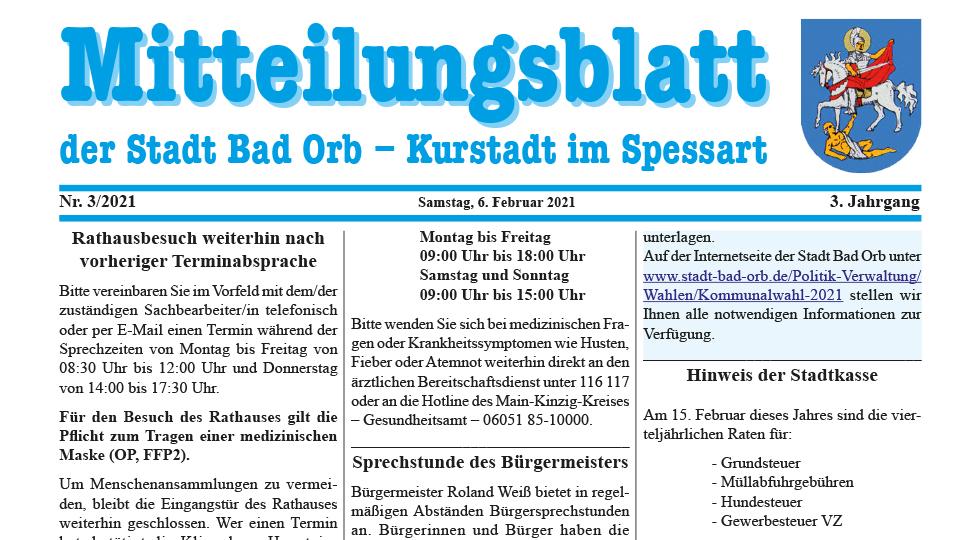 Mitteilungsblatt 2021/3