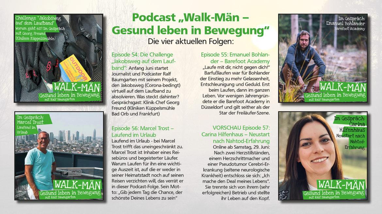 Walk-Män: Vier neue Podcast-Highlights im Mai erschienen