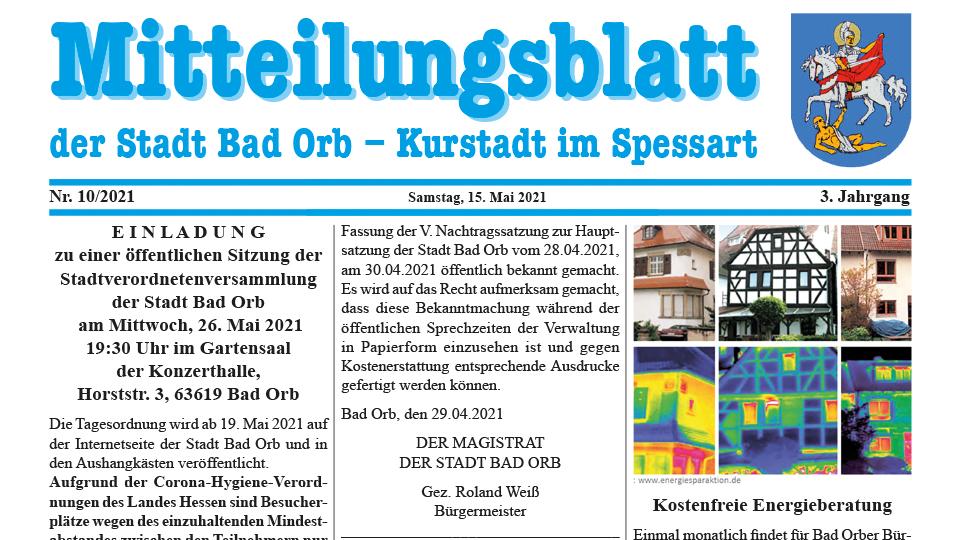 Mitteilungsblatt 2021/10