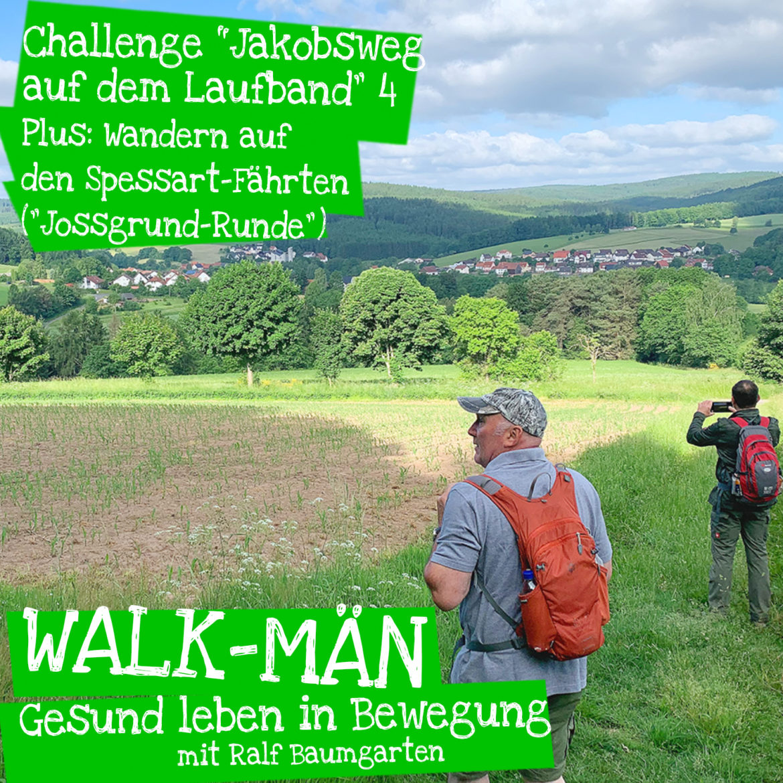 "Walk-Män-Podcast: ""Jakobsweg auf dem Laufband 4"" / Spessartfährte"