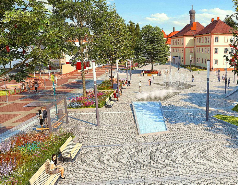 Bauarbeiten zur Neugestaltung des Salinenplatzes beginnen
