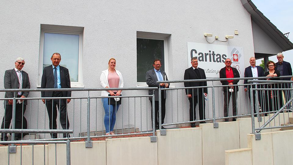 """""""Tour de Caritas"""": Endlich wieder die Einrichtungen vor Ort besuchen"""